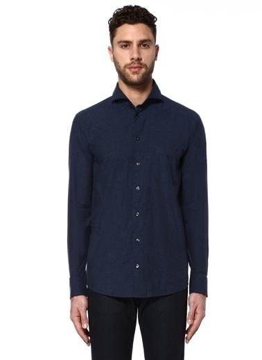 Eton Slim Fit Uzun Kollu Gömlek Mavi